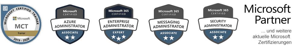 Aaron Siller - Microsoft Zertifizierungen