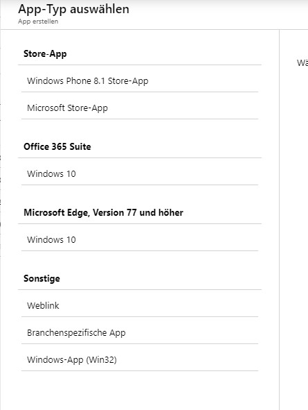 Microsoft Intune Application