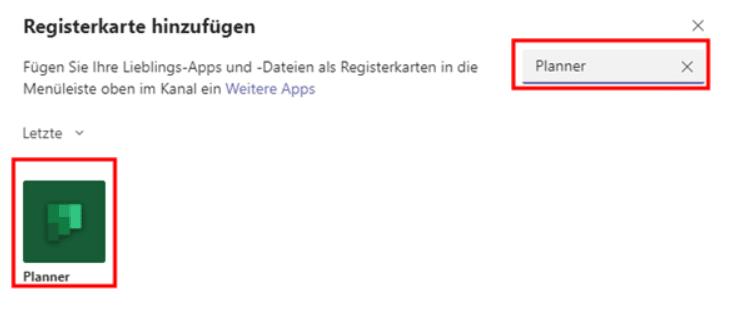 Microsoft-Teams-Registerkarte