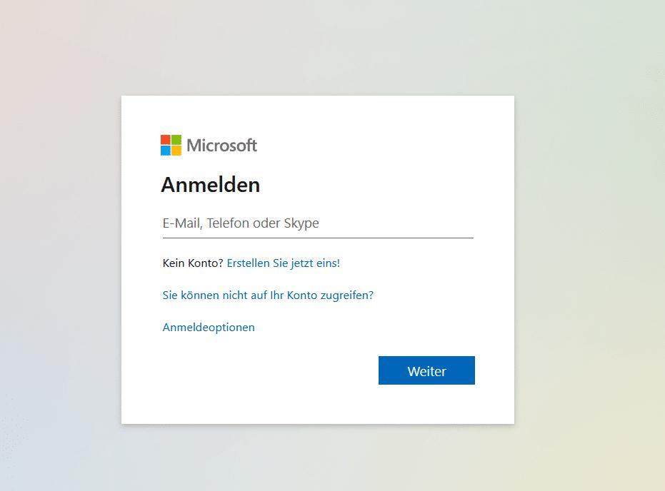 Microsoft-365-Login