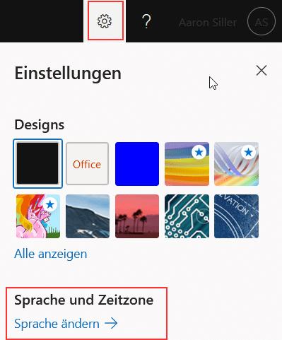Office-365-Portal-Deutsch