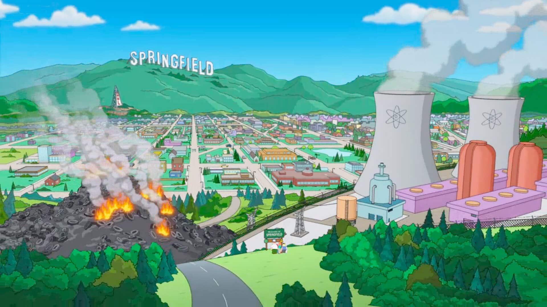 Teams Hintergründe Springfield-Simpsons