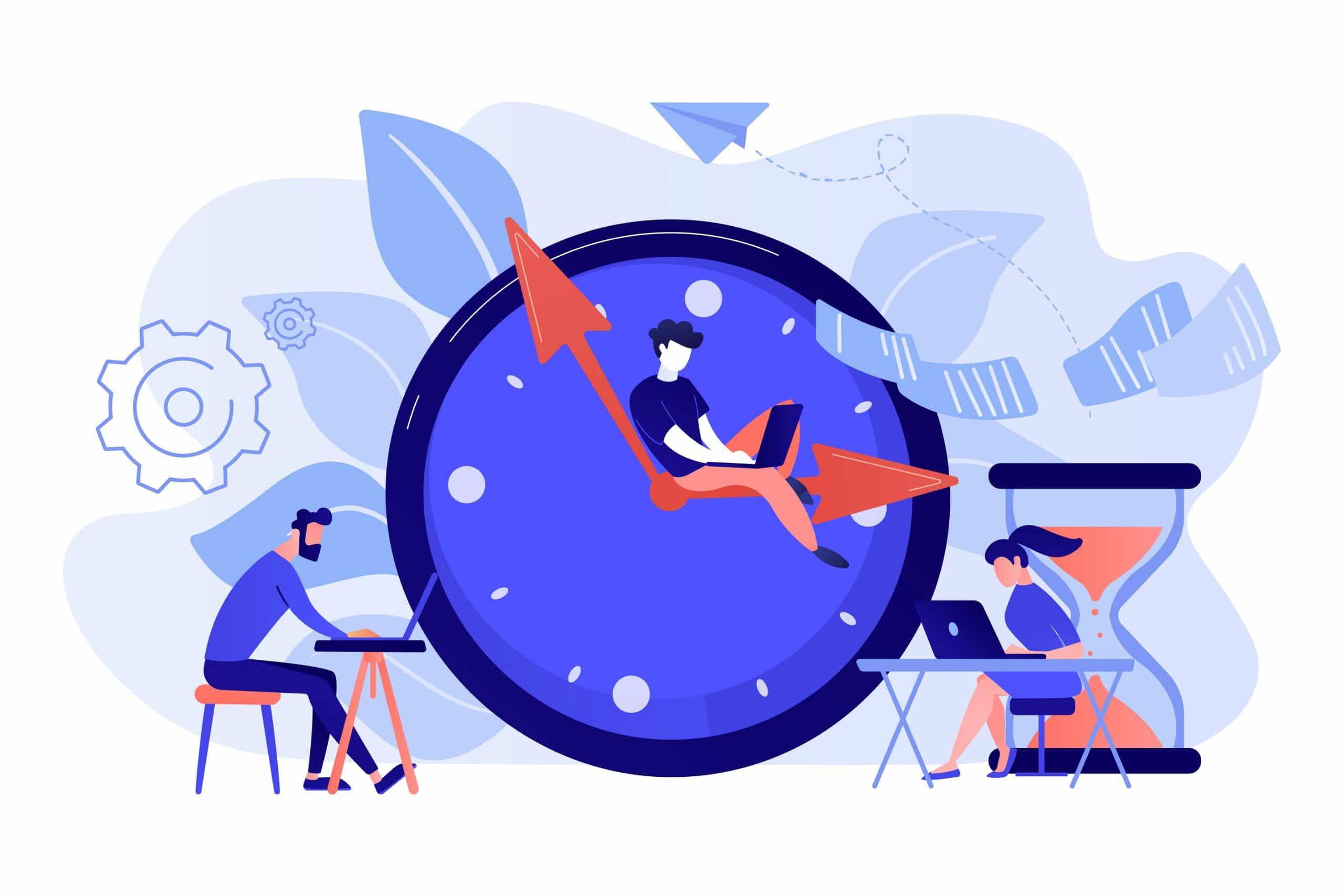 Arbeitszeit-Microsoft-Teams