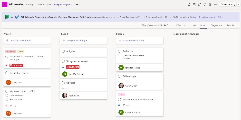 Dashboard-Microsoft-Planner