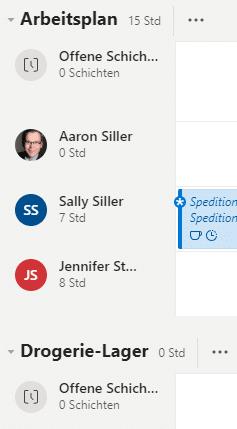Microsoft Teams Schichten App Mehrere-Schichtpläne
