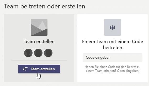 Team-erstellen