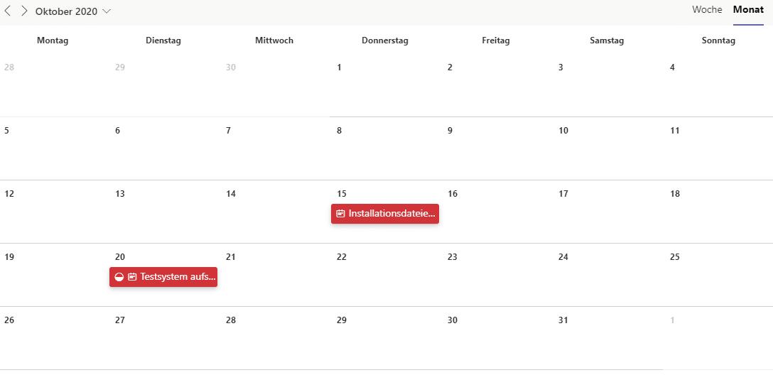 Zeitplan-Planner