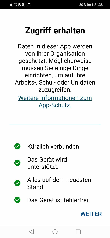 Angewendete-Richtlinie-Intune