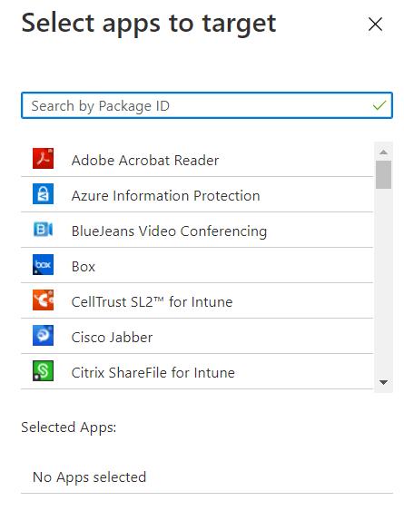 Apps-hinzufügen-Intune