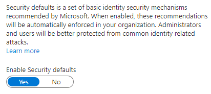 Enable-Security-Defaults