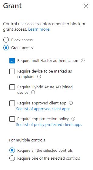 Erfordere-MFA-Azure-Portal