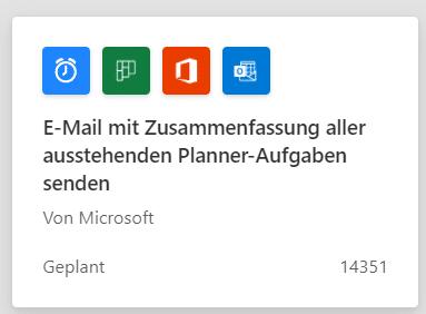 Microsoft-Power-Automate-Vorlage