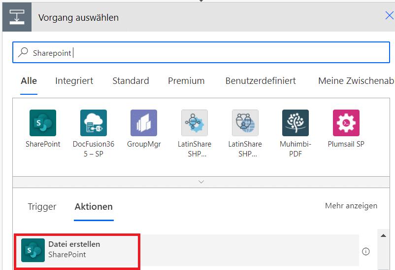 SharePoint-Datei-Erstellen-Power-Automate-Microsoft