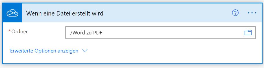 SharePoint-Pfad-Word-zu-PDF-Flow-Power-Automate