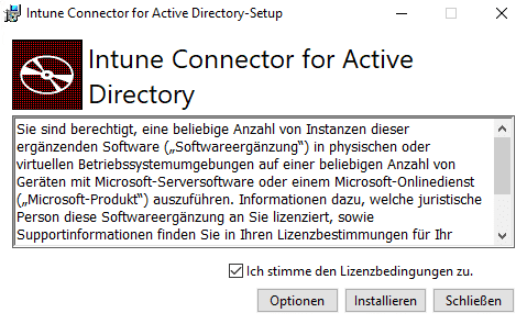 Intune-Connector-Installation