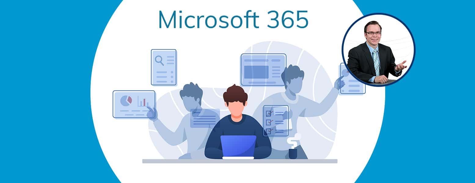 Headerbild zu dem Microsoft 365 Guide