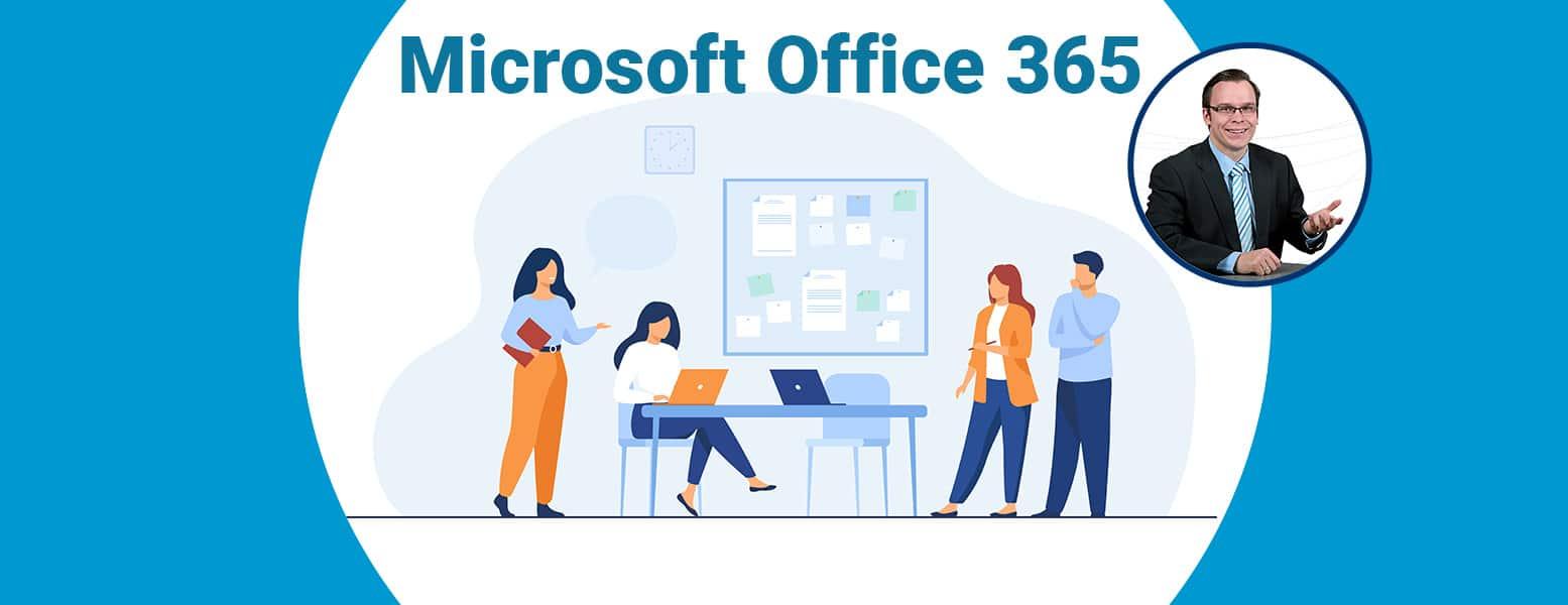 Titelbild für den Office 365 Guide